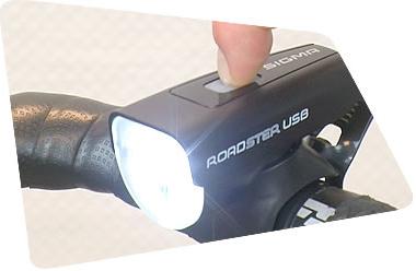 Allumage de l'éclairage Sigma Roadster
