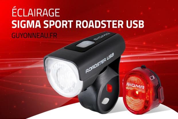 Sigma Roadster USB: lumière avant vélo