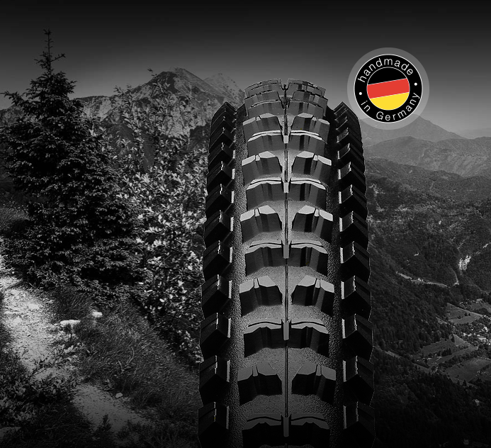 Profil du pneu VTT Kaiser 2.4 Apex