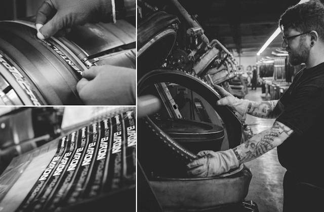 Fabrication pneu vélo Continental 4 Season