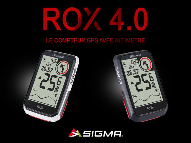 Nouveau ROX 4.0 de Sigma: le compteur GPS avec mesure de l'altitude