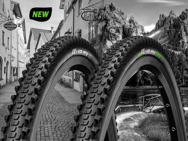 Ruban et eRuban Plus : les nouveaux pneus VTT AE