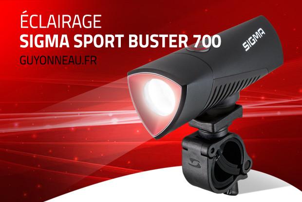 Buster 700, éclairage puissant pour les trails