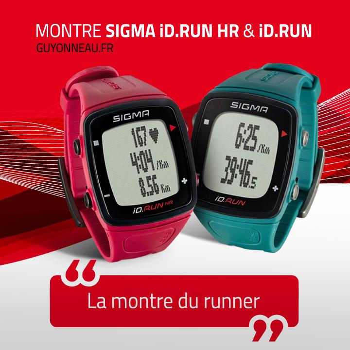 montre iD.RUN HR pour votre prochain run !