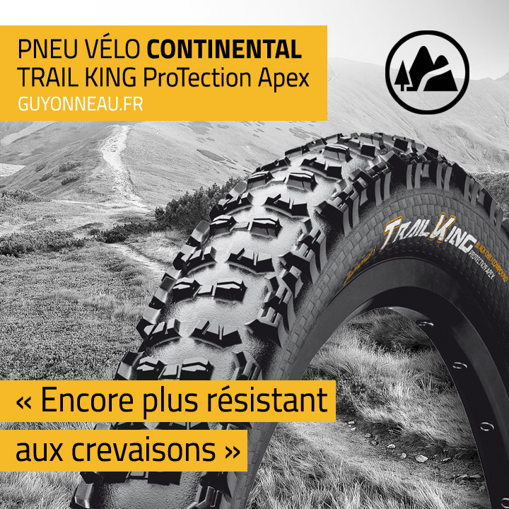 Profil pneu VTT Continental Trail King ProTection