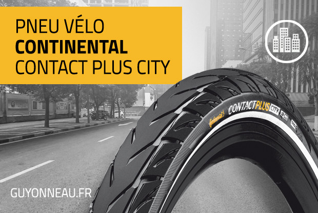 Continental Contact Plus City, spécial VAE
