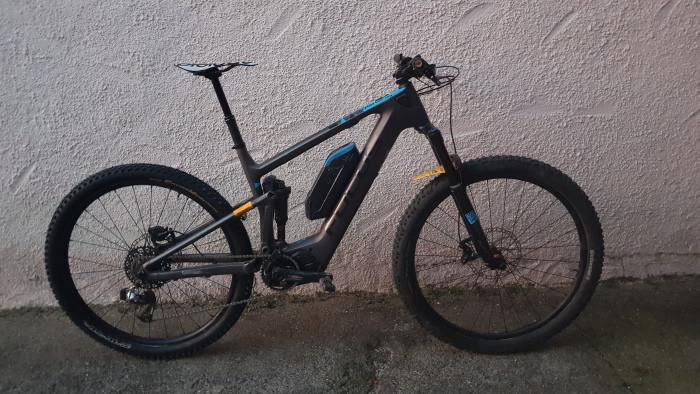 Le vélo e-bike de Pierre Lenaour Vernet