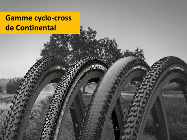La gamme cyclo-cross s'adapte à tous les terrains