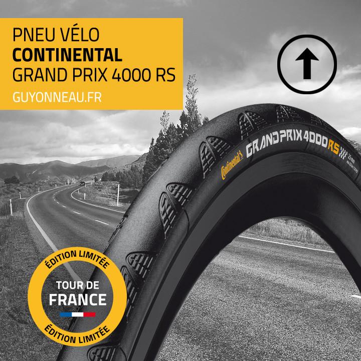 Pneu cyclisme Continental GP 4000RS édition limitée