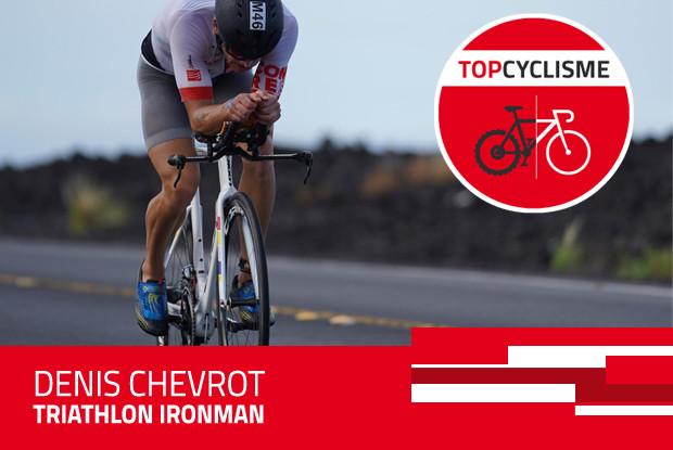 Denis Chevrot triathlète professionnel