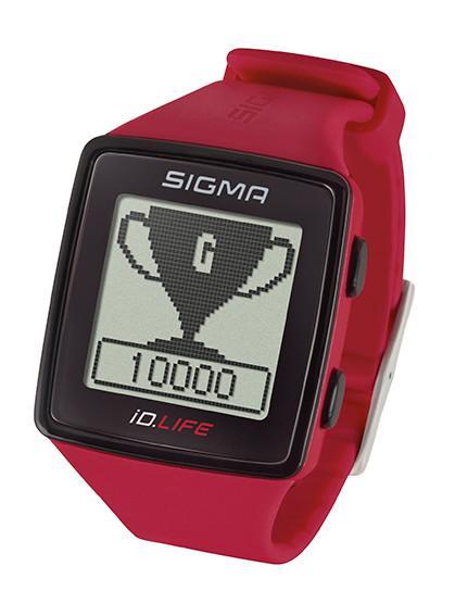 Montre Sigma cardio IDLIFE rouge