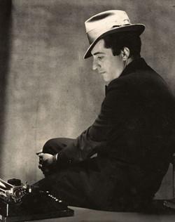 Playwright William Saroyan