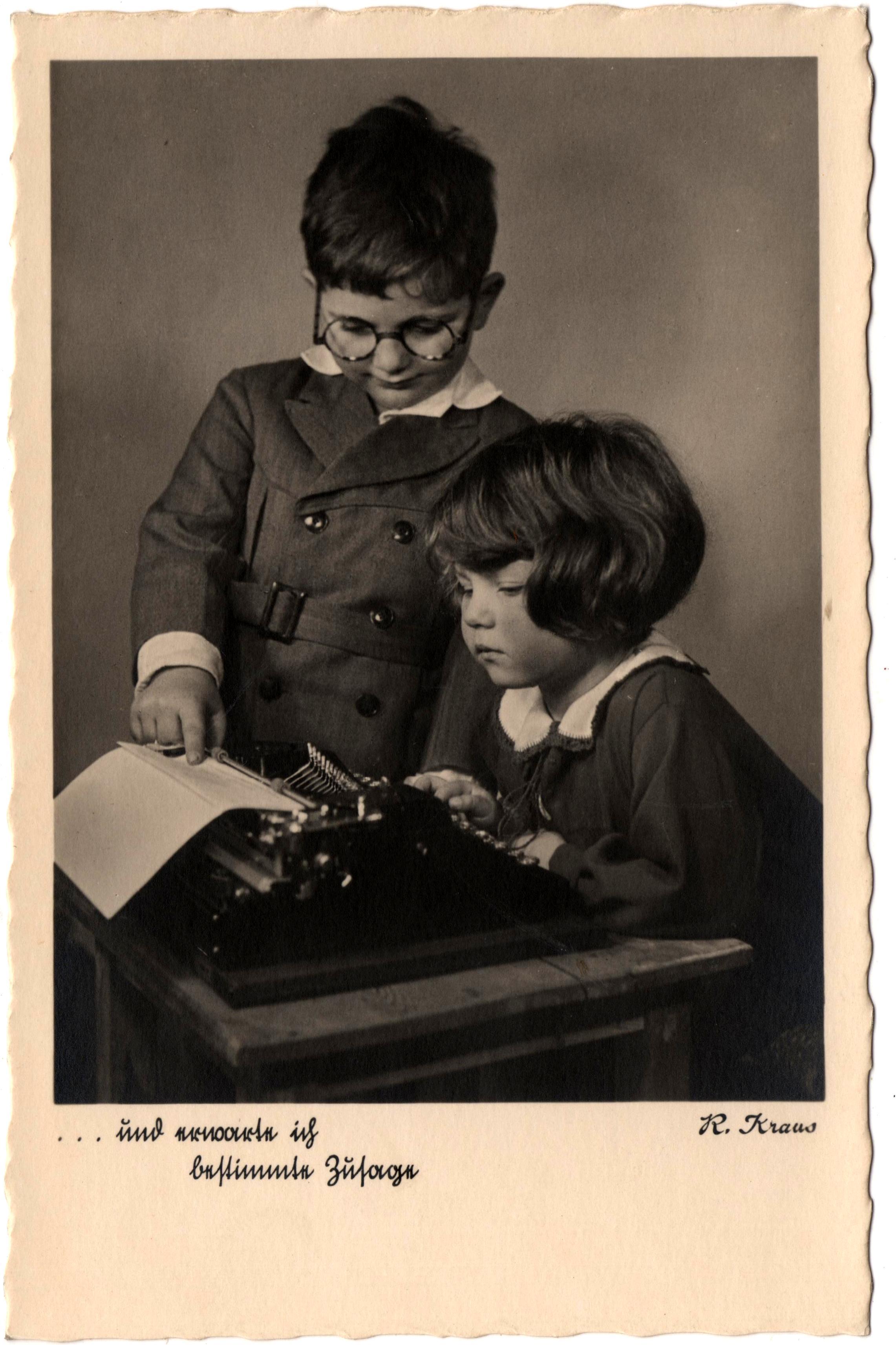 Typewriter Deltiology