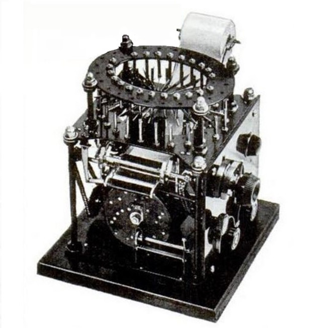 Underwood Music Typewriter