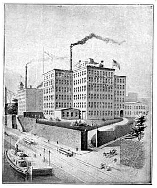 Hammond Typewriter Company Factory