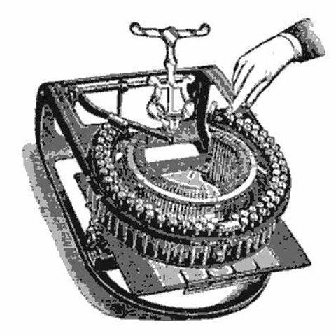 Pierce Practical Typewriter