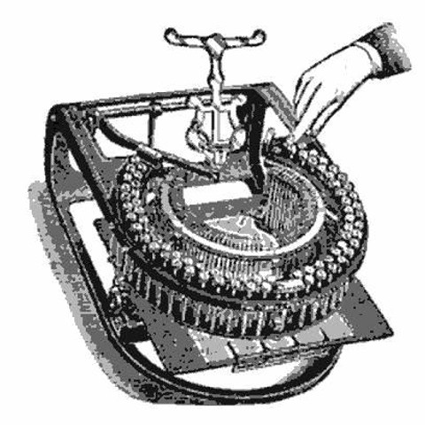 Pierce Practical Typewriter
