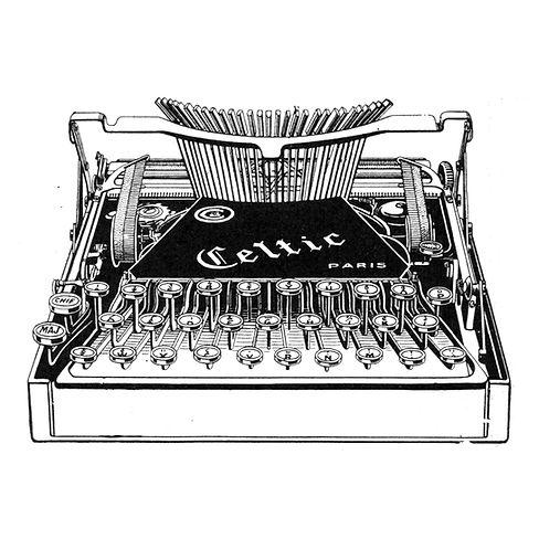 Celtic Typewriter (Machine a Ecrire)