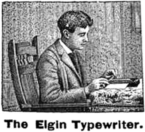 The Elgin Typewriter