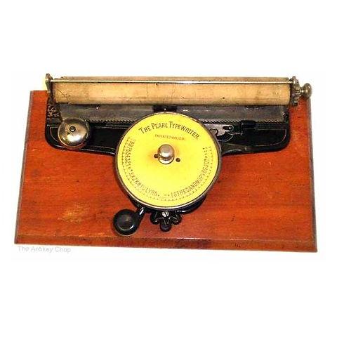 The Pearl Typewriter