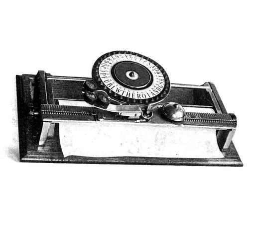 New Simplex No.8 Typewriter