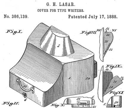 Lasar Typewriter Patent