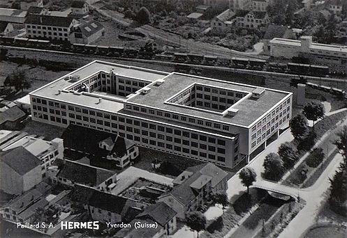 Hermes Typewriter Factory