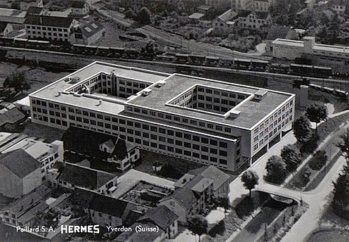 European typewriter factories for Hermes verteilzentrum chemnitz