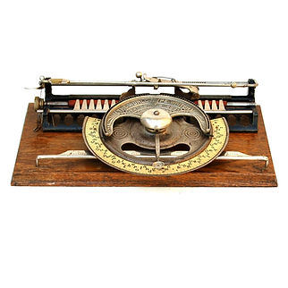 World No.2 Indexing Typewriter with Uppe