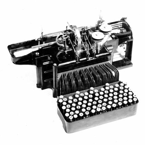 Cahill Typewriter