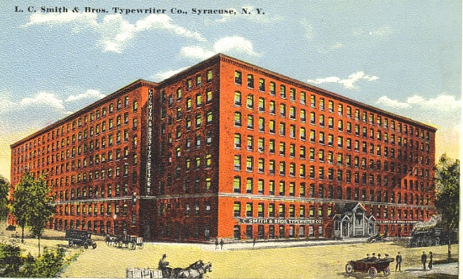 L.C. Smith & Bros Typewriter Company Factory