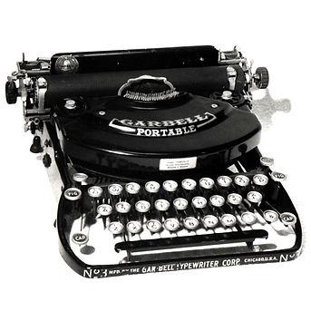 Garbell Typewriter No.3