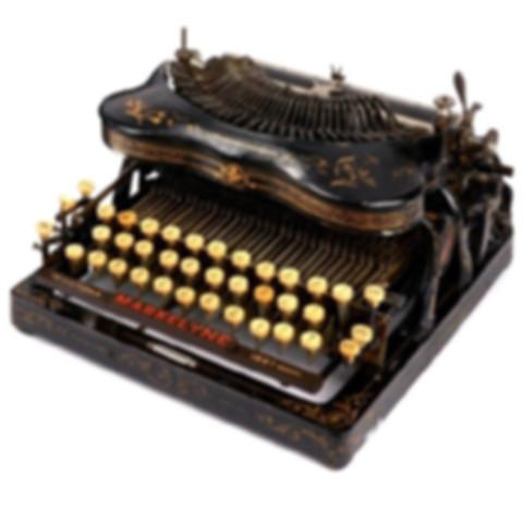 The Victoria Maskelyne Tpewriter