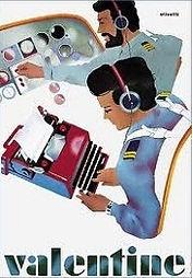 Olivetti Valentine Vintage Advertising Poster