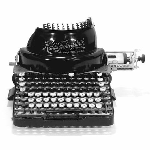 Halda No.2 Typewriter