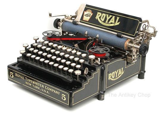 Royal Standard No.5 Typewriter