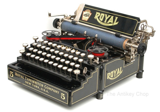Royal Standard No.5 Typewriter