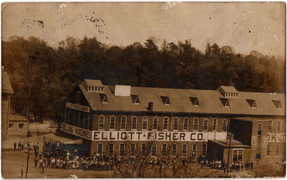 Elliott-Fisher Typewriter Factory