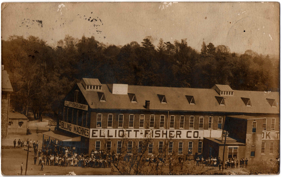 Elliott-Fisher Typewriter Factory