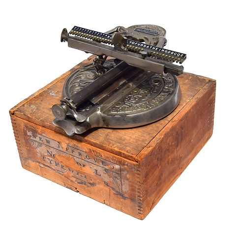 Odell No.4 Typewriter