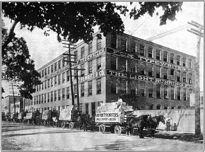 Fox Typewriter Factory