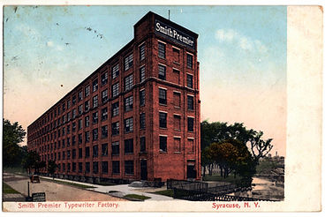 Smith Premier Typewriter Factory