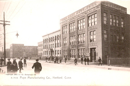 Pope Manufacturing Hartford Connecticut