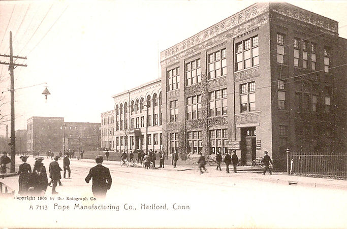 Pope Manufacturing Company Factory