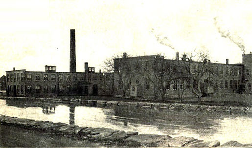 Williams Typewriter Factory in Derby, Connecticut