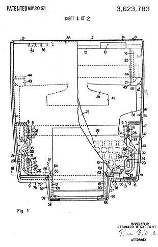 Ward Escort 55 Patent