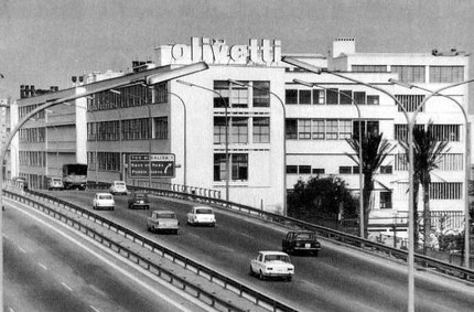 Industrial Designer Olivetti Typewriter Factory in Barcelona SpainPerry King