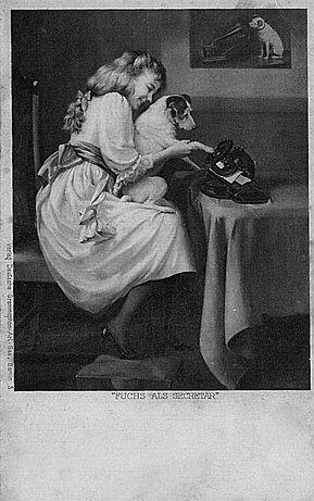 Lambert Typewriter Gramophone Advertisment