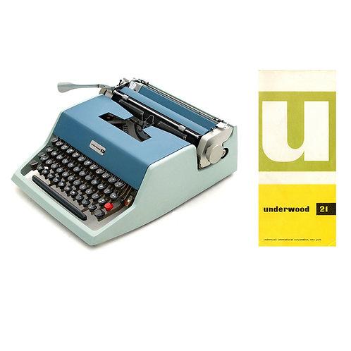 Underwood 21 Typewriter Instruction Manual