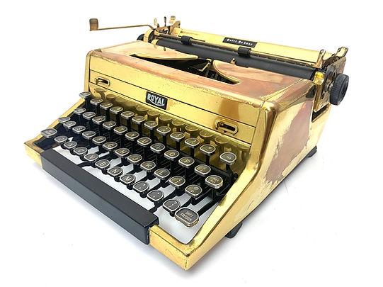 Gold Royal Drefuss QDL Typewriter s.n.A1685465  (1).jpg